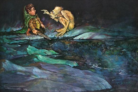 người hobbit gollum riddle
